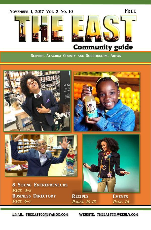 The East Community Guide - Gainesville, FL nov 2017 the east take3