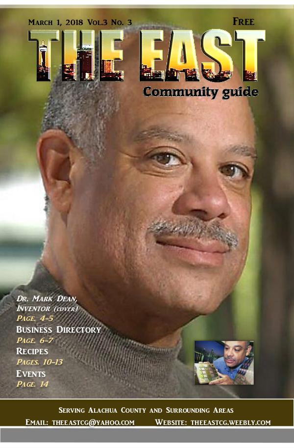 The East Community Guide - Gainesville, FL March 2018 the east take3