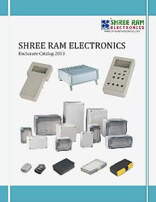 SHREE RAM ELECTRONICS- ENCLOSURE CATALOG 2013