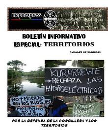 Boletín Informativo Especial: Territorios Mapuexpress