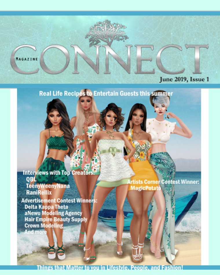 CONNECT Magazine Issue 1, Volume 1