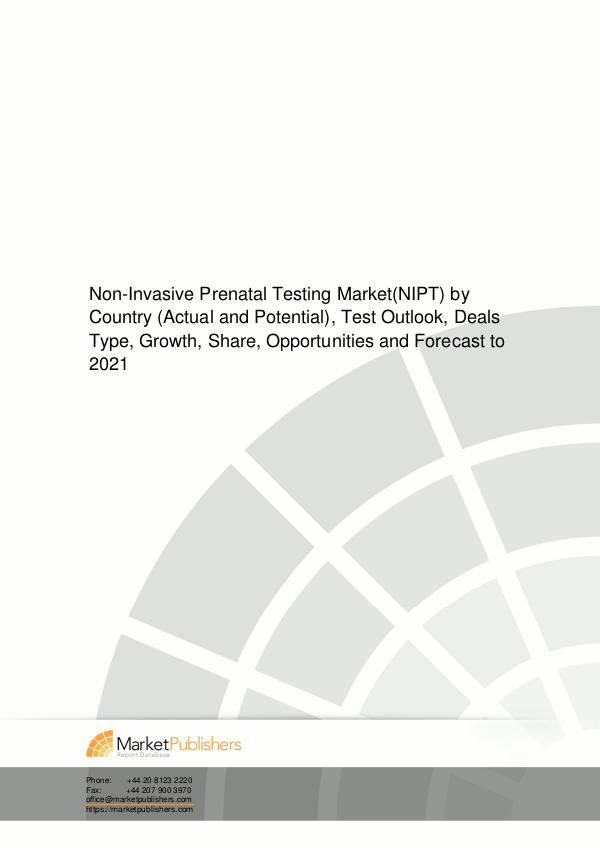 DPI Research : Reignite your Market Intelligence Singapore MICE touri NIPT test market