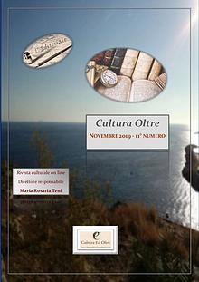 Rrivista Cultura Oltre - 11° numero- Novembre 2019