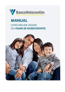 Manual de utilização Banco Votorantim