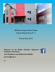 Biblioteca Joaquín García Monge