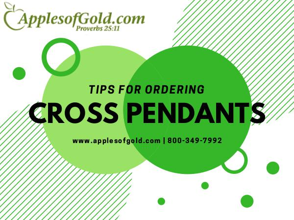 Apples Of Gold Jewelry Tips For Ordering Gold Cross Pendants
