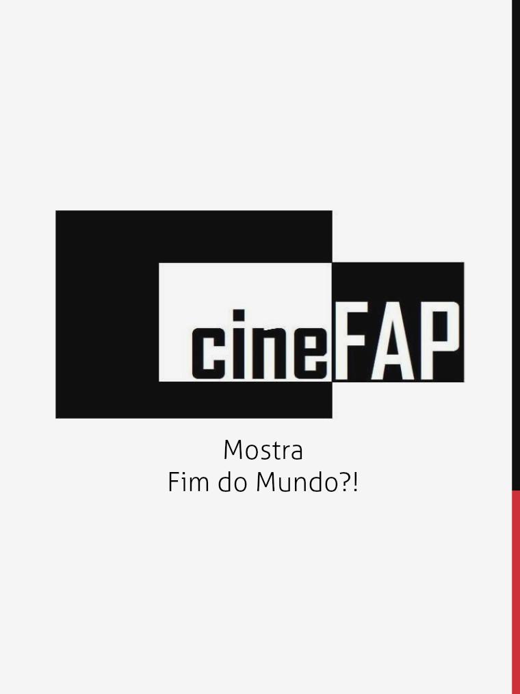 Catálogo Cine FAP Fim do Mundo
