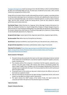 Sports & Energy Drinks Market - Regional Analysis & Industry Growth