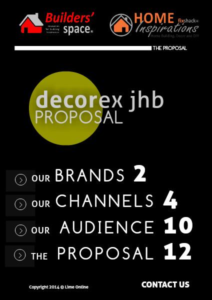 Building a Better Future Decorex Proposal