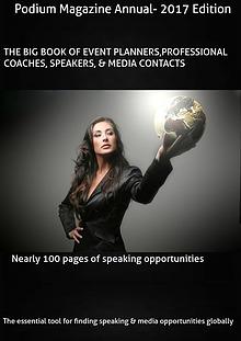 Podium Magazine's Big Book of speaking Engagements