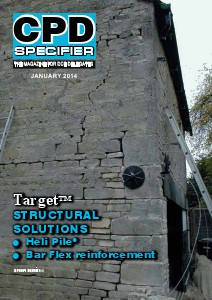 CPD Specifier magazine - January to May 2014 issue Jan 2014