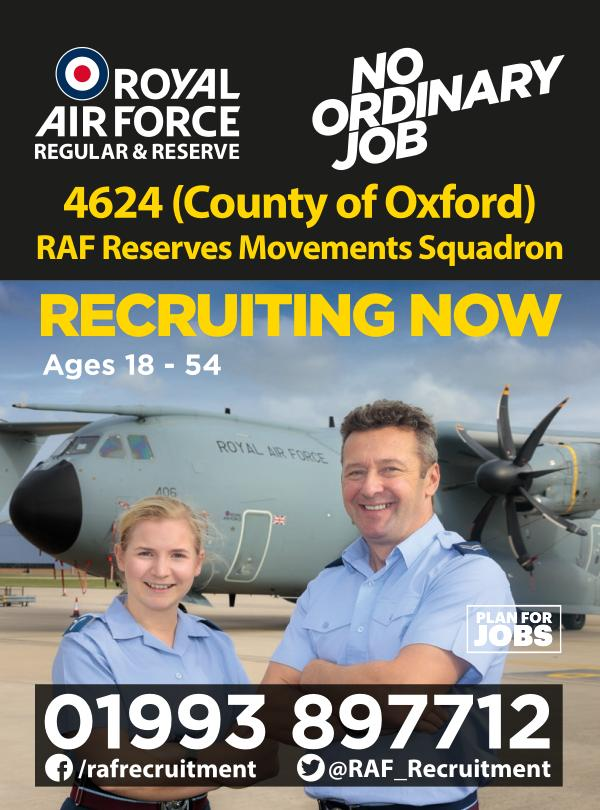 Reserves Opportunities 4624 (County of Oxford) Sqn