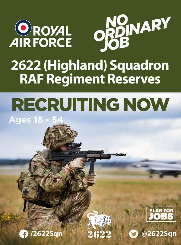 2622 (Highland) Squadron RAF Regiment