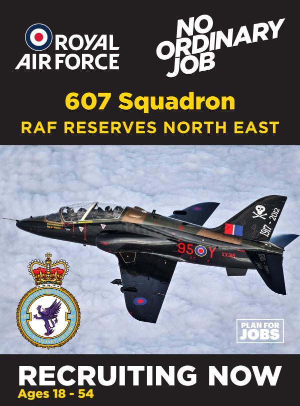 607 Sqn_RAF Reserves North East