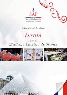 Service à la Française International Brochure