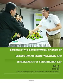 REPORTS ON THE DOCUMENTATION OF CASES OF SERIOUS HUMAN RIGHTS VIOLATI