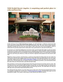 Wild Orchid Beach Resort and Hotel