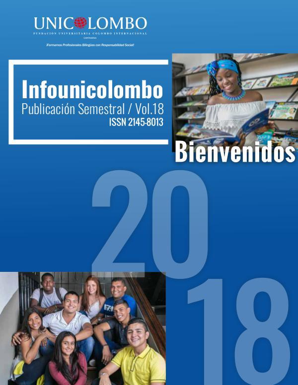 Boletín InfoUnicolombo BOLETIN INFOCOLOMBO 2018 1P SMALL