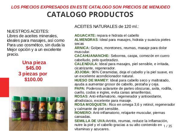catalogo menudeo Maria Luna 2018