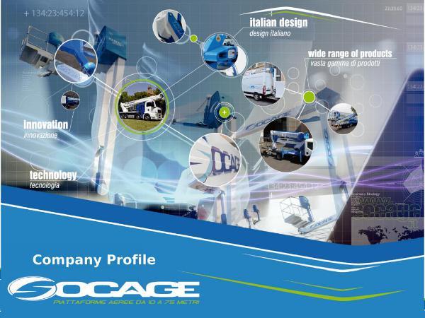 SOCAGE Company profile. English COMPANY PROFILE 2018