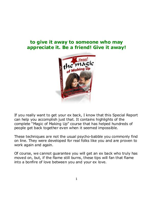 Get Magic of Making Up Review PDF eBook Book Free
