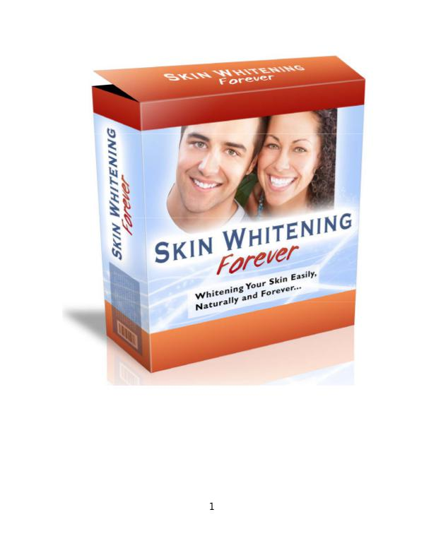 Get Skin Whitening Forever Review PDF eBook Book Free