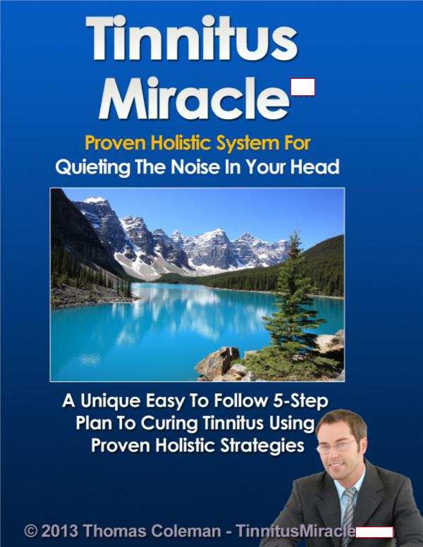 Tinnitus Miracle Review PDF eBook Book Free
