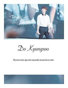 Do Kyungsoo, actor y cantante