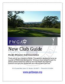 New Club Guide