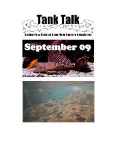 Tank Talk Magazine September 2009