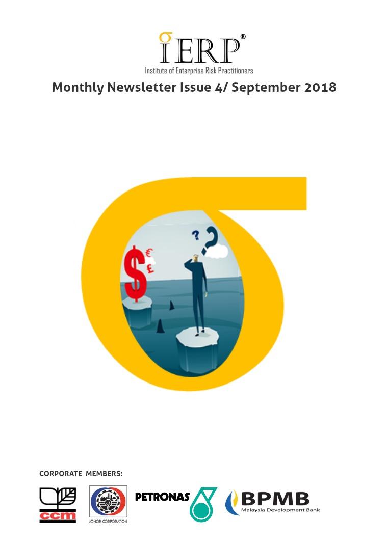 IERP® Monthly Newsletter Issue 4/ September 2018