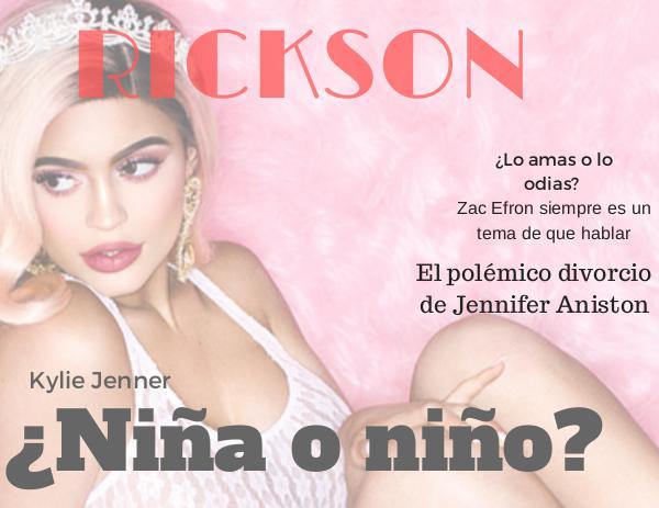 Rickson revista hecha