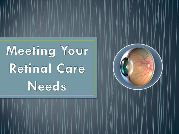 RETINA CARE CONSULTANTS. P.A. Meeting Your Retinal Care Needs