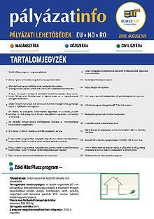Newsletter ETC Augusztus