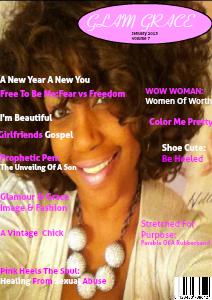 glam grace January 2013
