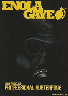 Enola Gaye Price List 2012