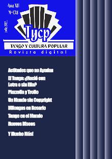 Tango y Cultura Popular N° 138