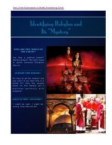 WhyandHowNonJewishBelieversLeftTheirHebraicRoots Identifying Babylon and Its