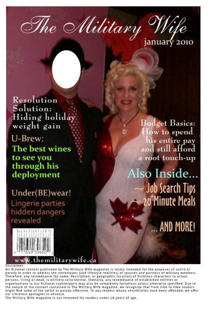 The Military Wife Jan 2010