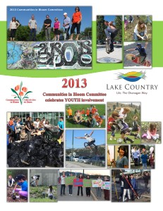 Lake Country Communities in Bloom Profile 2013 Community Profile