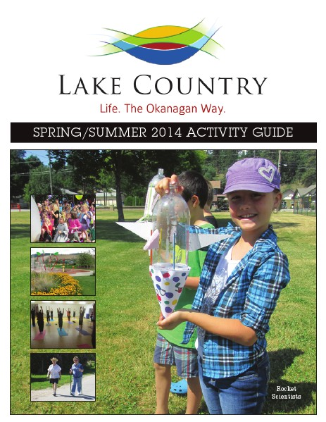 Spring/Summer 2014 Activity Guide