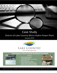 Hydro Power Plant Studies Lake_Country_Micro_Hydro_Power_Plant_Case_Study
