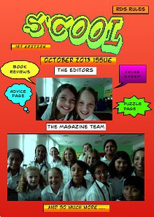 S'Cool Magazine Issue 1 | 1 October, 2013