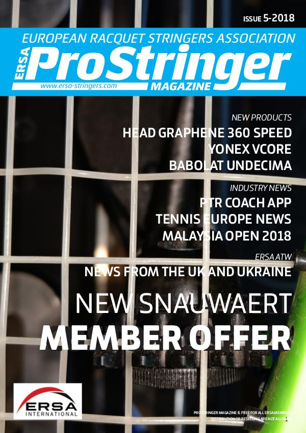 ERSA Pro Stringer Issue 5 - 2018 prostringer5-18 web