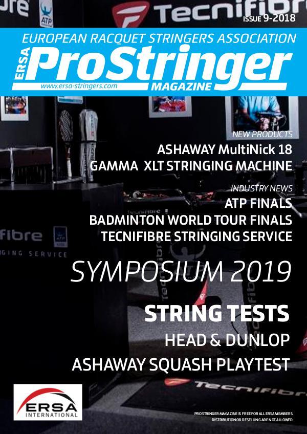 ERSA Pro Stringer Magazine 9 - 2018 prostringer9-18 web