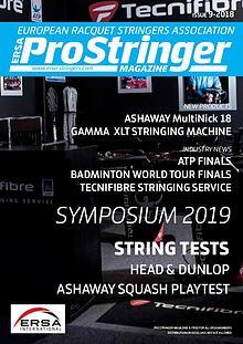 ERSA Pro Stringer Magazine 9 - 2018