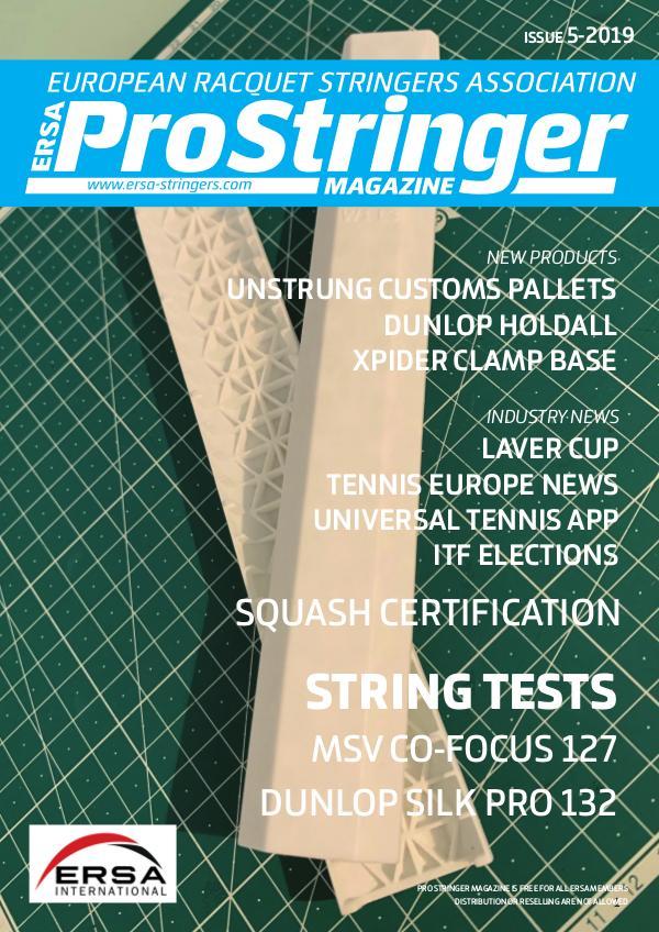 ERSA Pro Stringer Magazine 5 - 2019 prostringer 5-2019 - web
