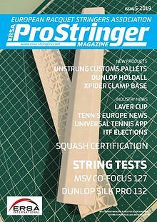 ERSA Pro Stringer Magazine 5 - 2019