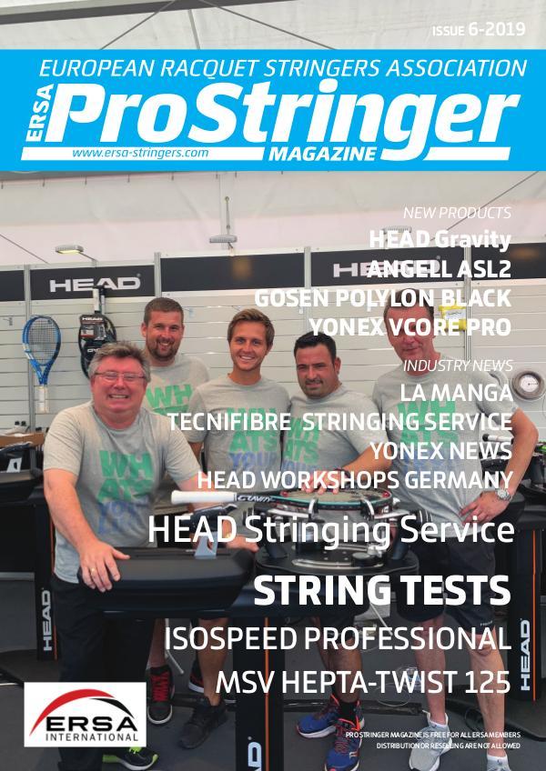 ERSA Pro Stringer Magazine 6 - 2019 prostringer 6-2019