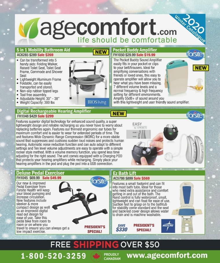 Age Comfort Winter 2020 Catalogue